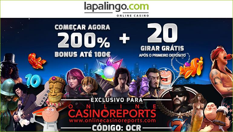 Reivindique € 10 Sem Depósito e uma Oferta de Boas-Vindas de 200% no Lapalingo Casino