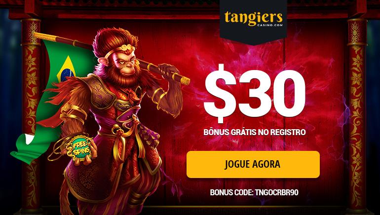 Ganhe 90 Reais brasileiros Por Registrar-se no Tangiers Casino