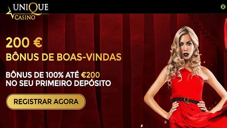 O Unique Casino Dá Boas-Vindas aos Jogadores Brasileiros com € 200 em Bônus