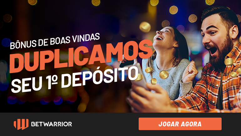 BetWarrior Brasil Incrementa Saudações com Bônus de 100% até R$ 500
