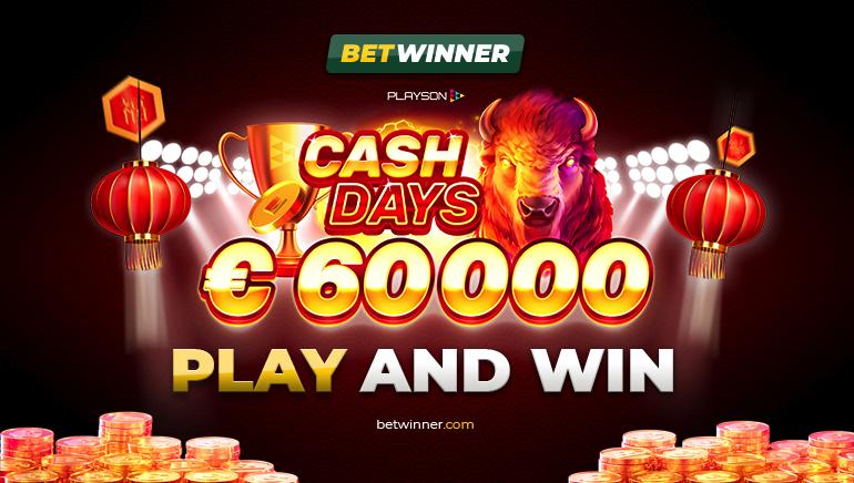 Dias Endinheirados de Fevereiro de €60k em Curso no Betwinner Casino