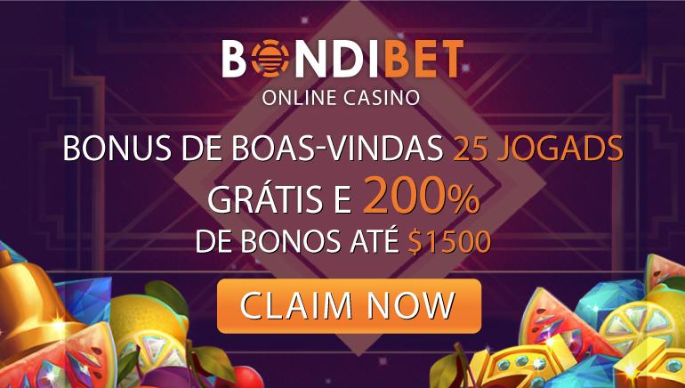 Vá Com o Bônus de Boas-Vindas de 200% do BondiBet + 25 Giradas Sem Depósito
