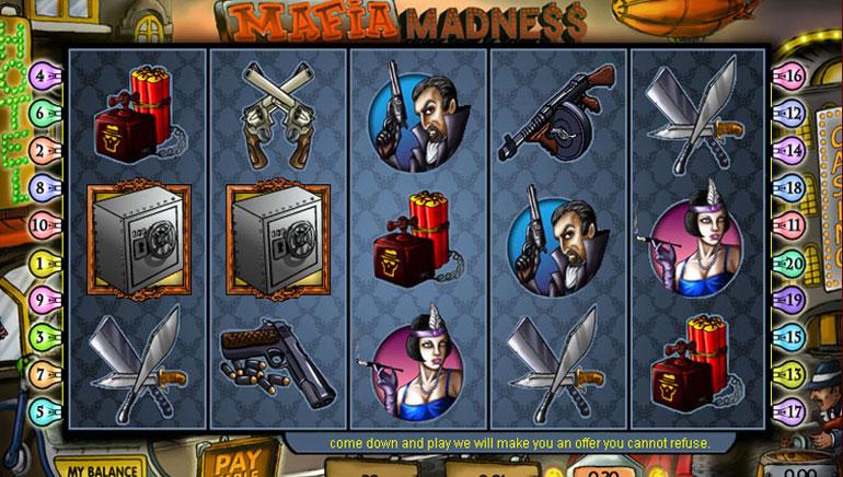 Mafia Madness – 100 Jogadas Grátis