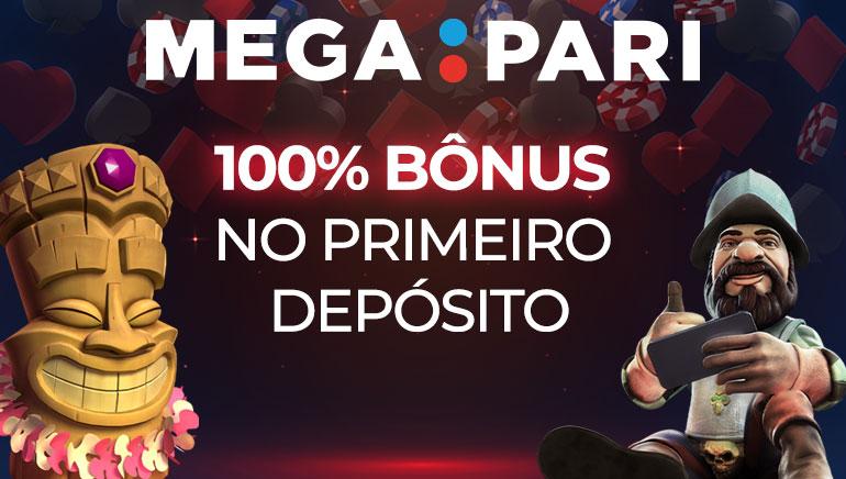 Megapari Casino Oferece aos Jogadores 100% até € 100 de Bônus de Cadastro