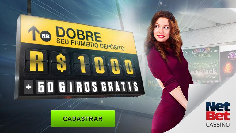 Nova Oferta de Boas-Vindas no Cassino Online NetBet para Brasileiros