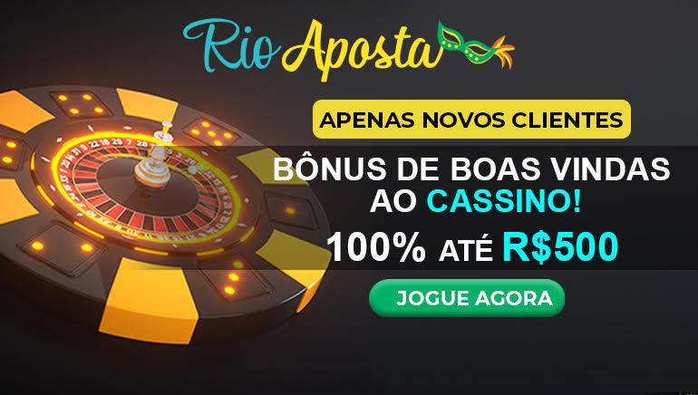 Ganhe Grande com o Bônus de Boas-Vindas de R$ 500,00 do Rio Aposta Casino