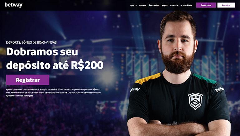 Betway eSports Abre para Jogadores do Brasil
