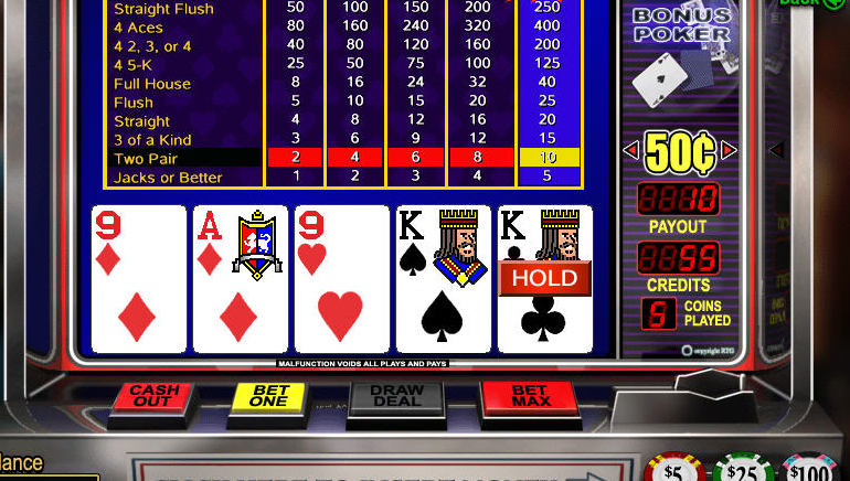 Spela 4 Line Deuces Wild Videopoker Online på Casino.com Sverige